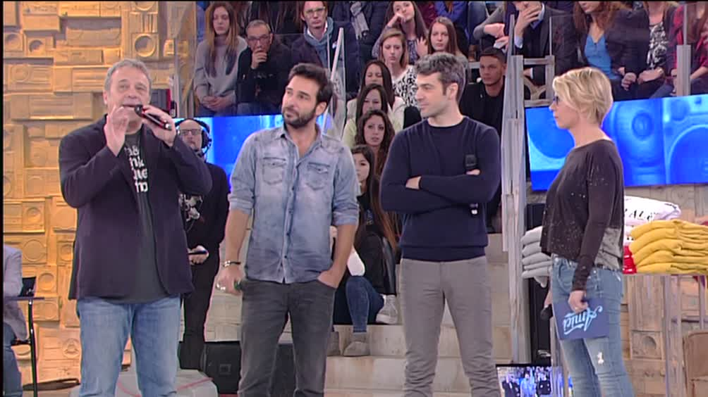 Luca Argentero, Claudio Amendola e Edoardo Leo...