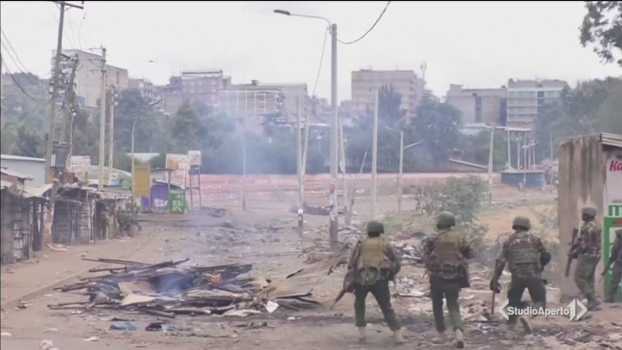 Dopo il voto esplode la violenza in Kenya