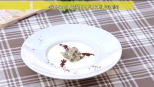 Crema di patate e funghi porcini