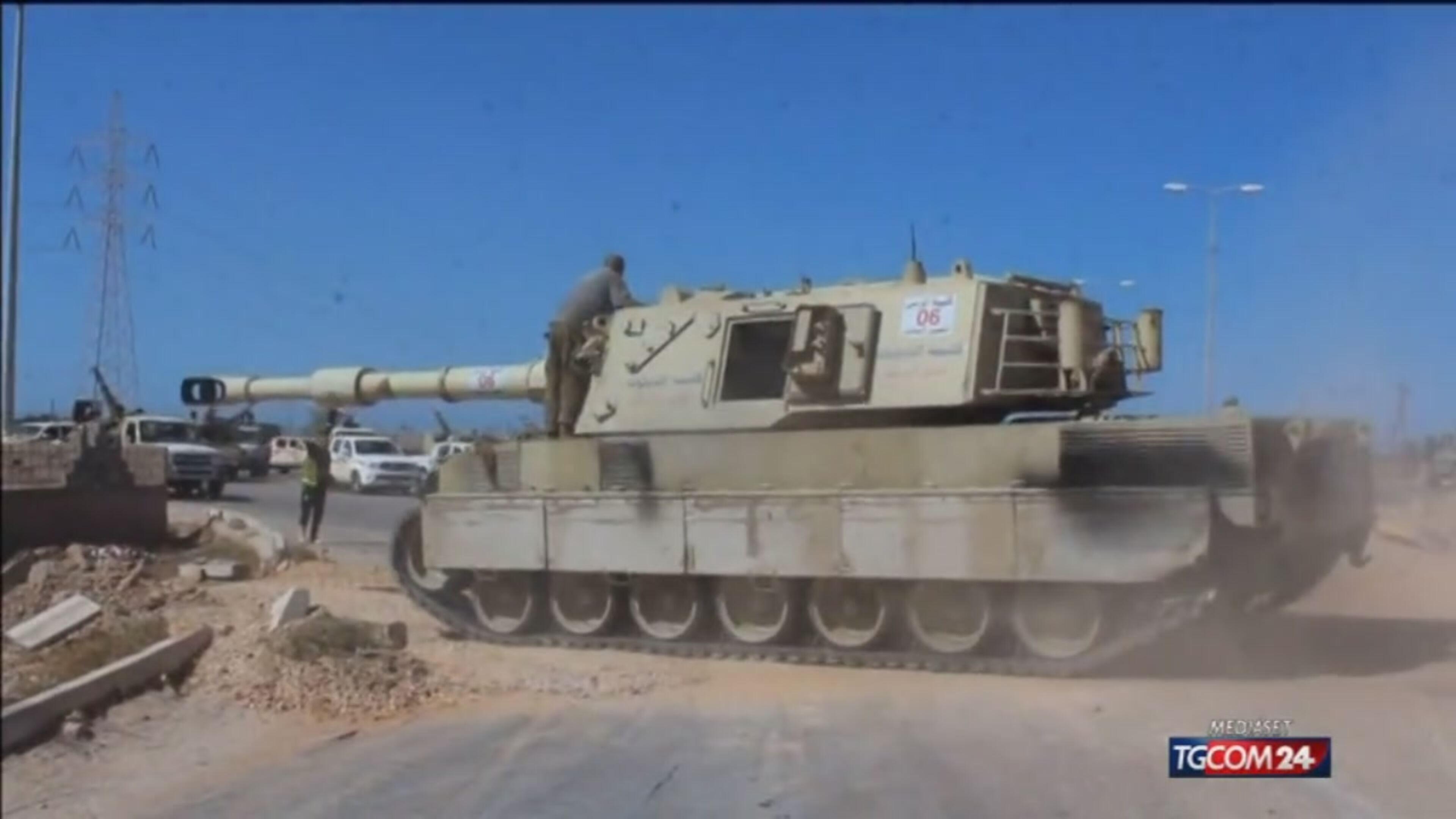 Isis, le forze governative libiche riconquistano il porto di Sirte