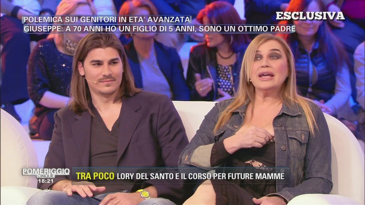 Lory Del Santo incinta?