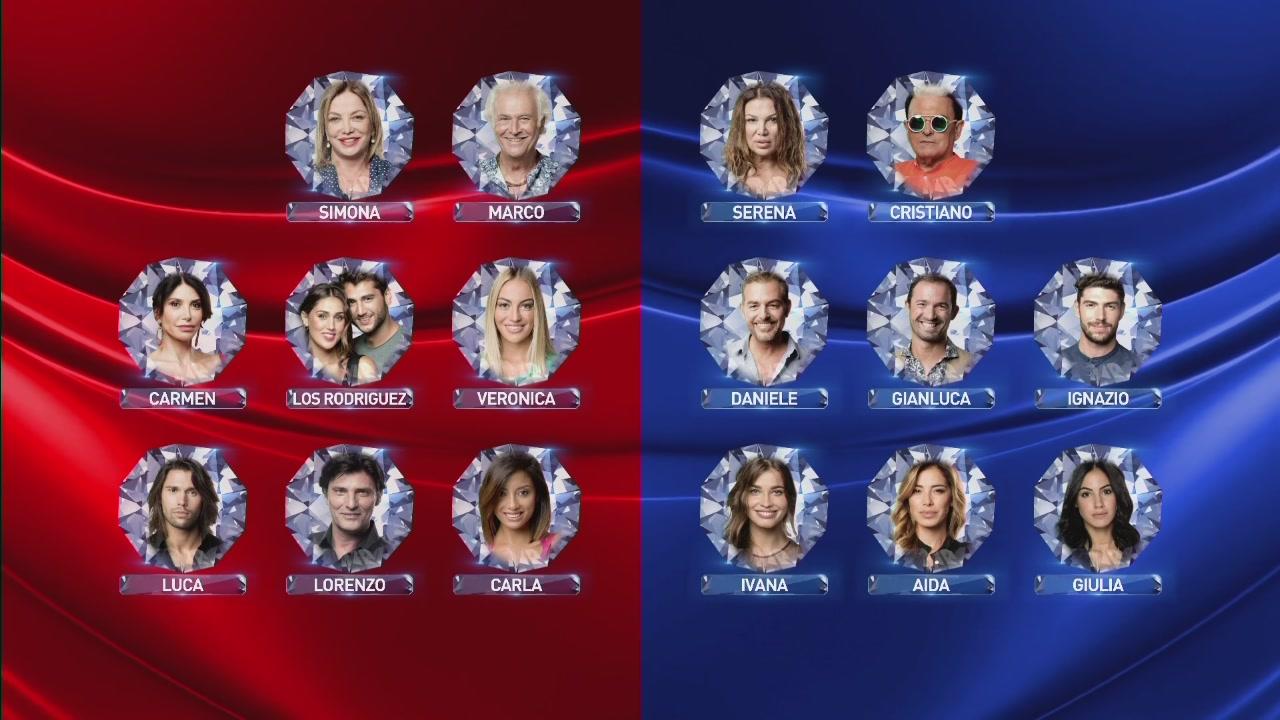 Squadra Blu vs Squadra Rossa