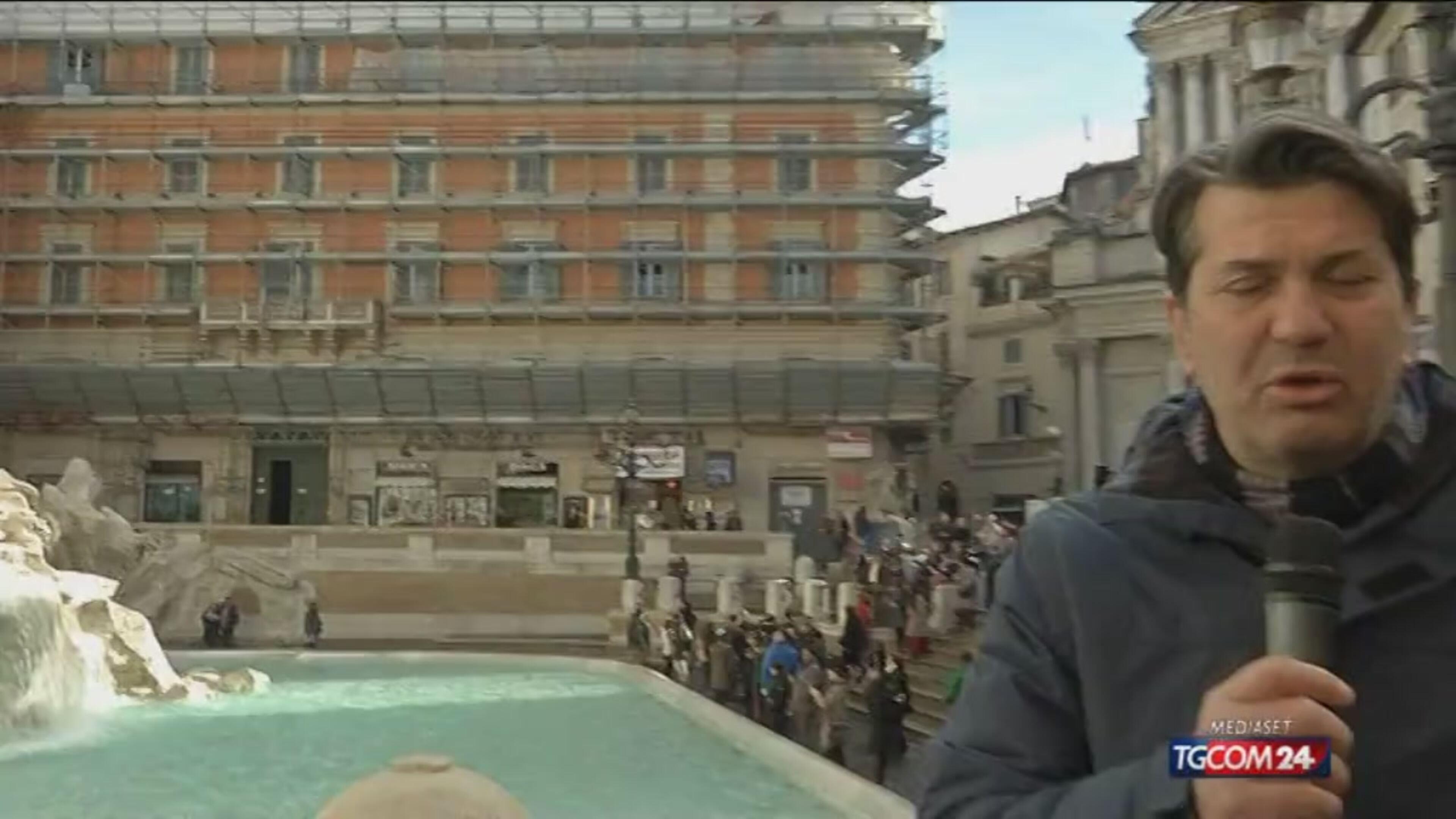 Affittopoli, spunta un appartamento del Viminale a Fontana di Trevi