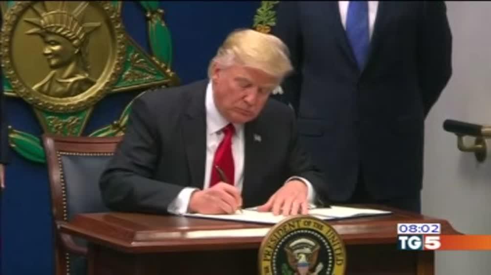 Stasera telefonata Trump-Gentiloni