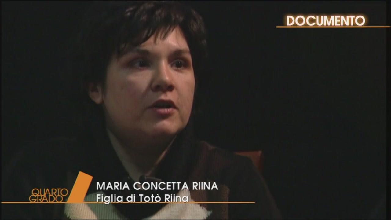 Lo sfogo di Maria Concetta Riina