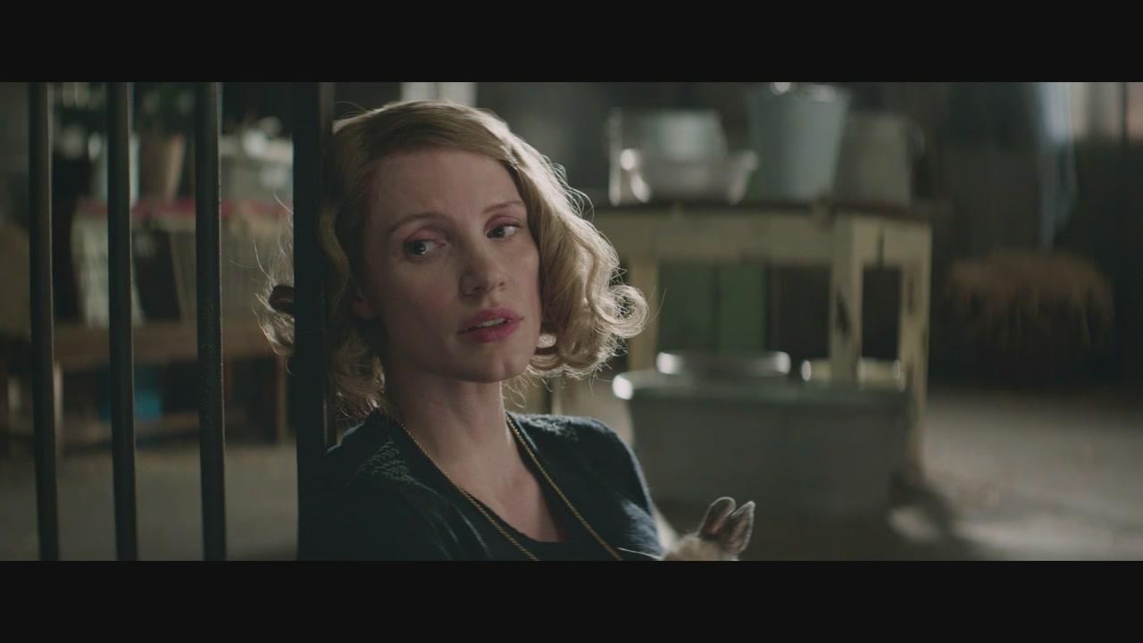 """Jessica Chastain è """"La signora dello zoo di Varsavia"""": clip esclusiva"""