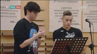 Il duetto Michele Bravi – Einar