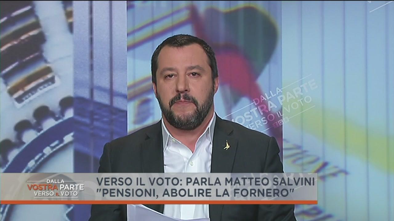 Matteo Salvini e le pensioni