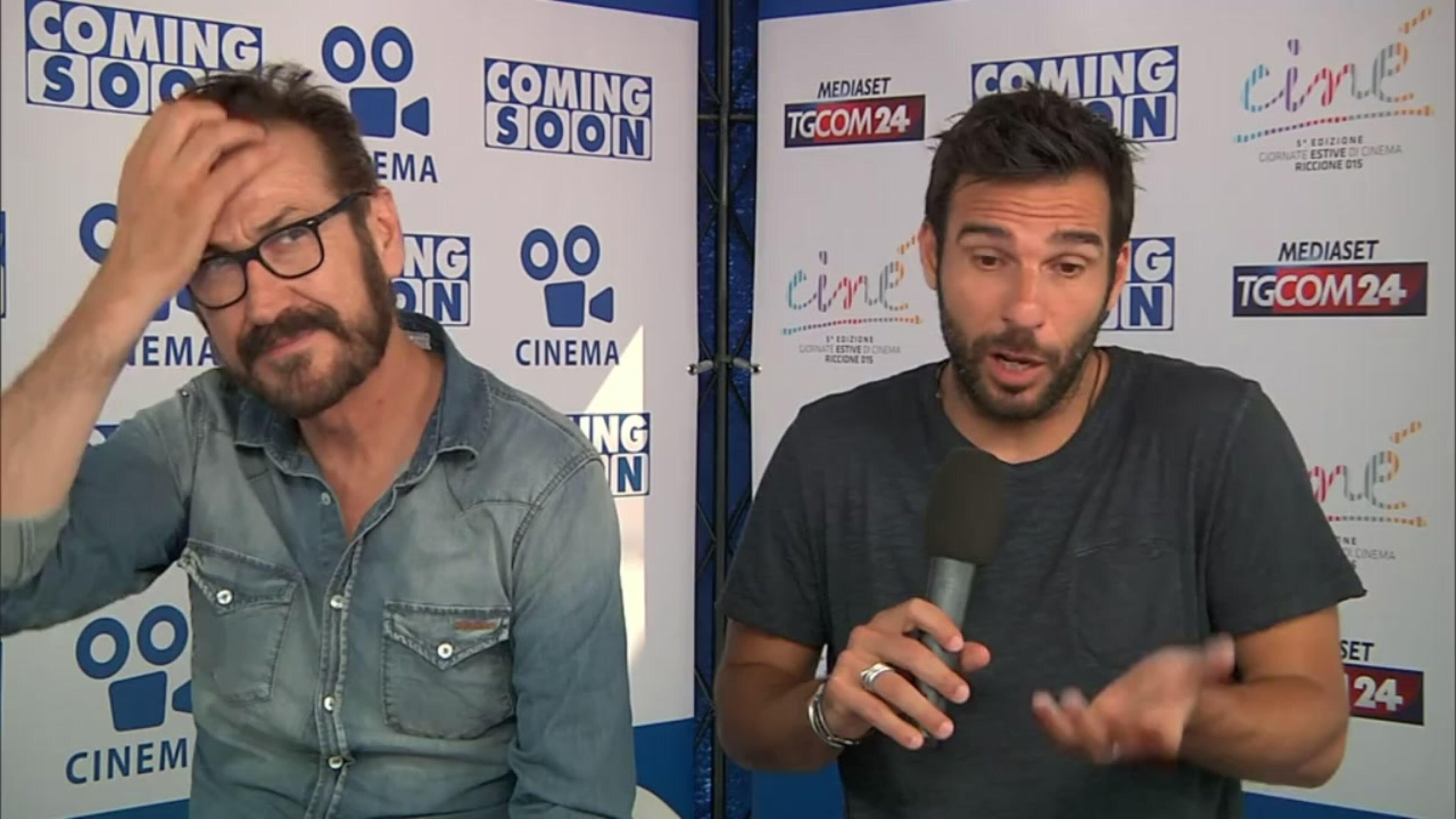 Cinè, intervista a Marco Giallini ed Edoardo Leo