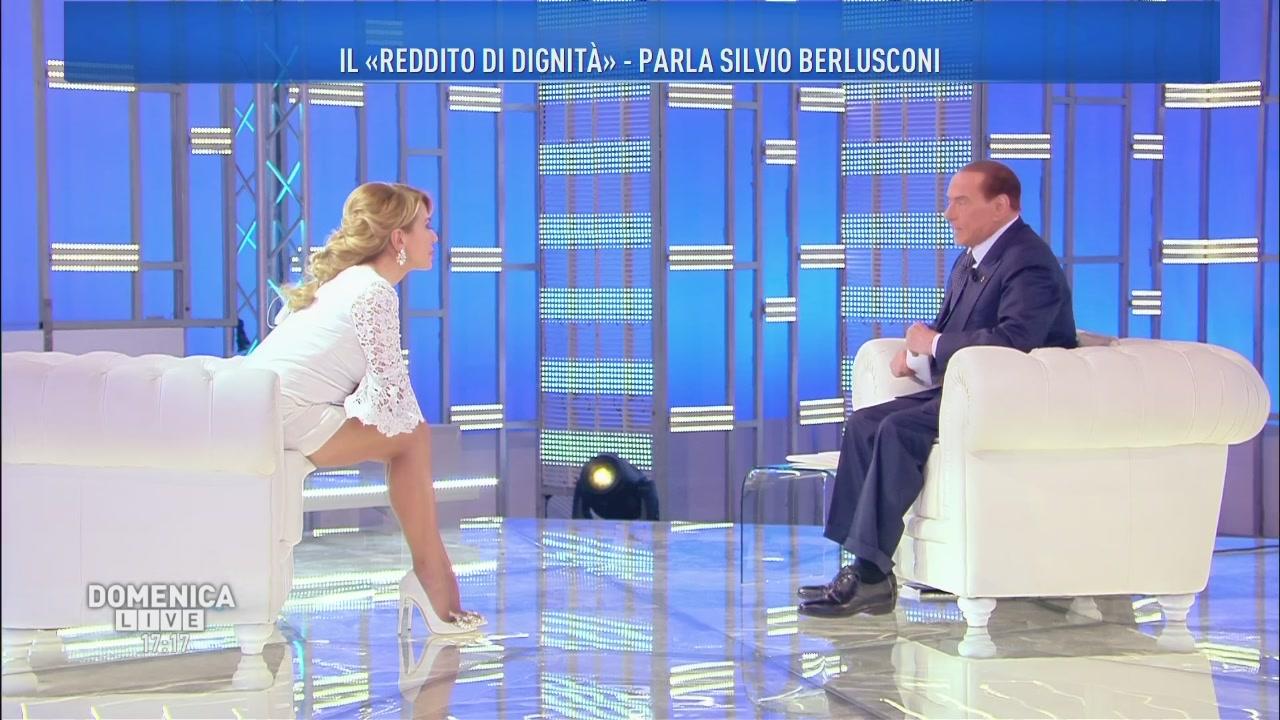 Silvio Berlusconi: pensioni e reddito di dignità