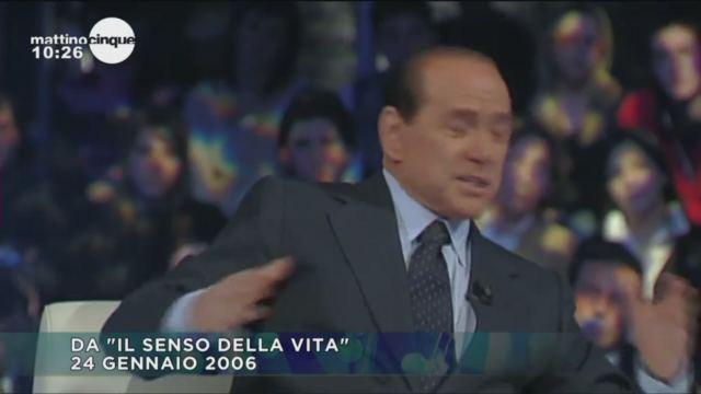 Berlusconi ricorda da Paolo Bonolis la mamma Rosa