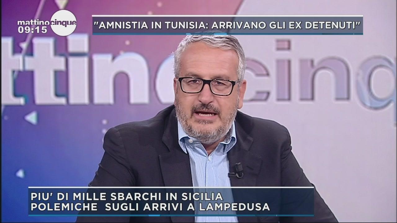 Polemiche sugli sbarchi di Lampedusa