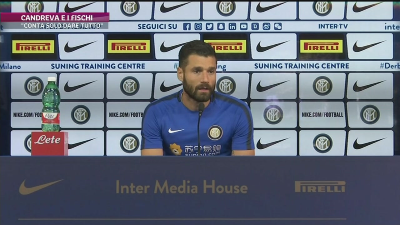 Inter, Candreva e i fischi