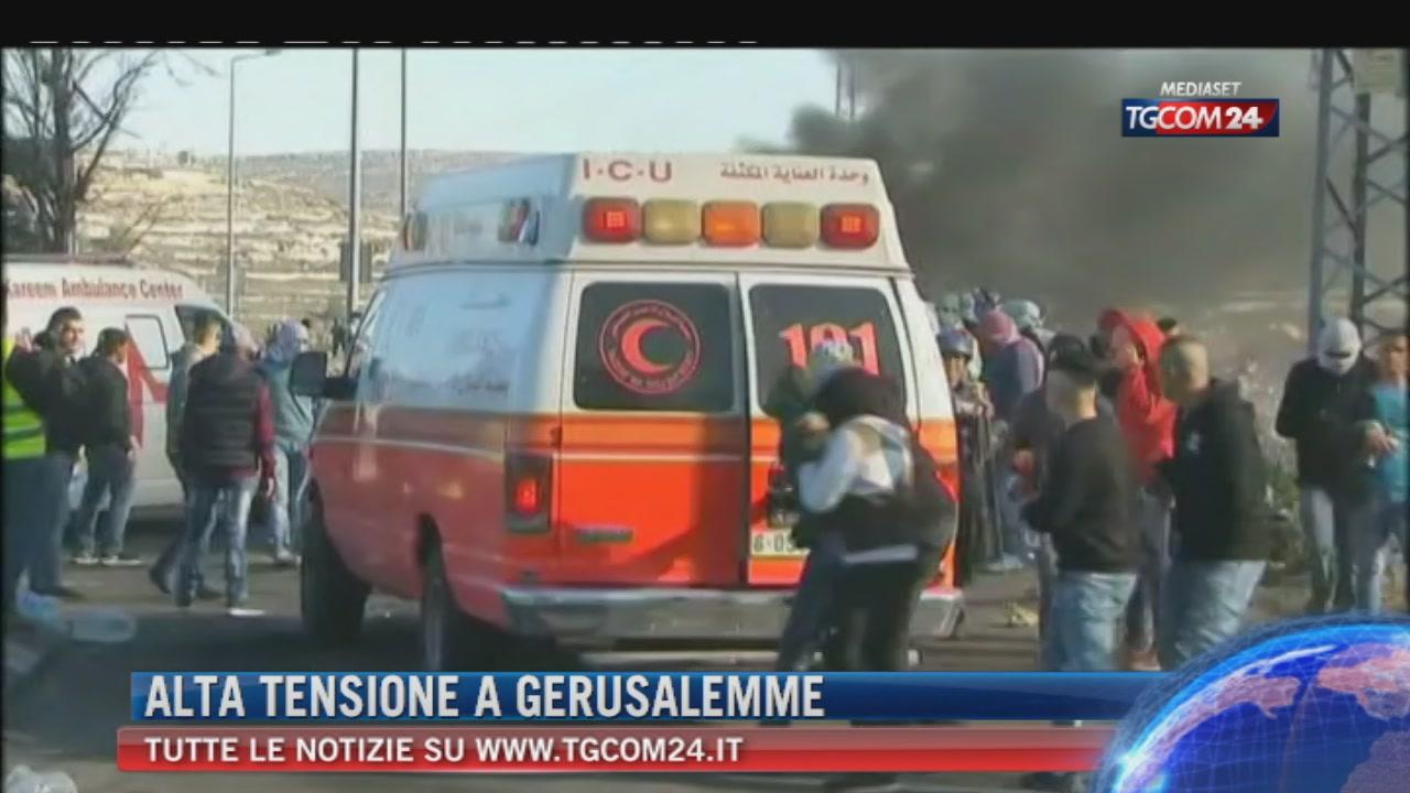 "Breaking News delle 21.30: ""Alta tensione a Gerusalemme"""