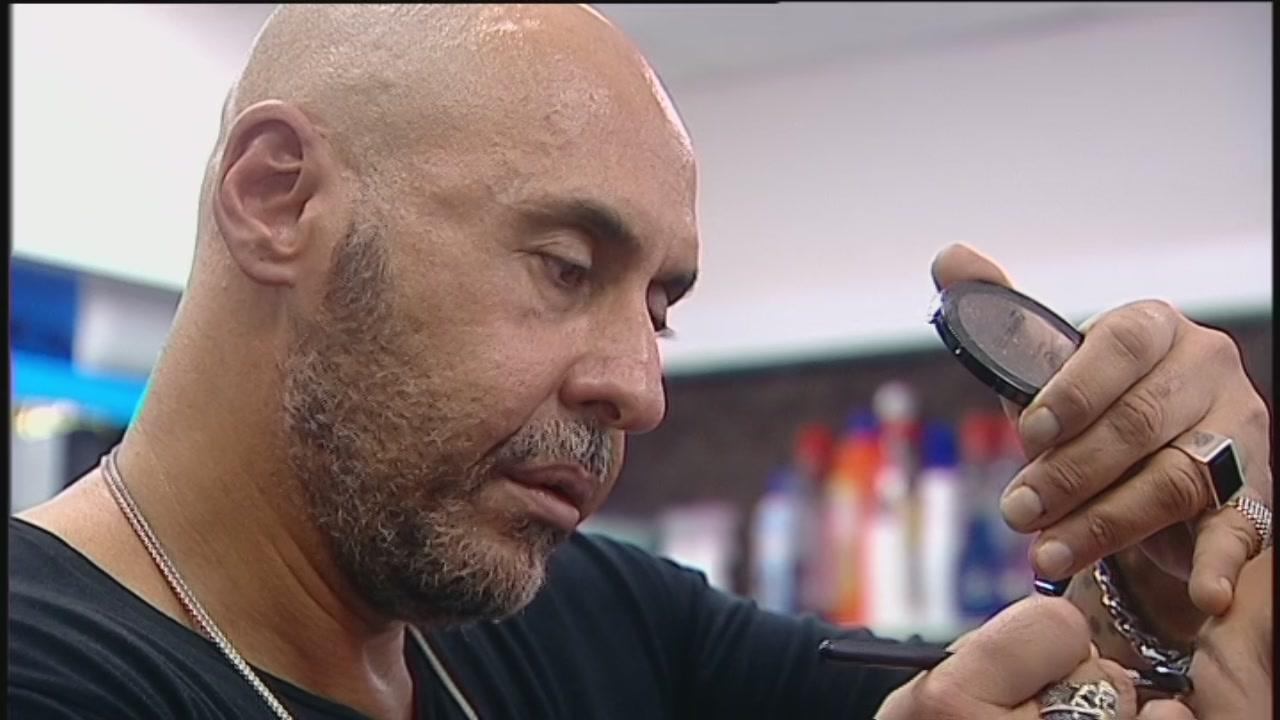 Il makeup artist all'opera - Terza parte