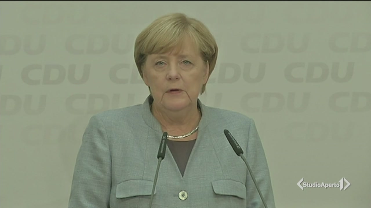 E Frau Merkel avvia i colloqui