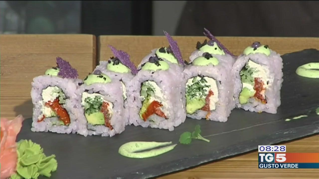 Gusto verde: Sushi vegano