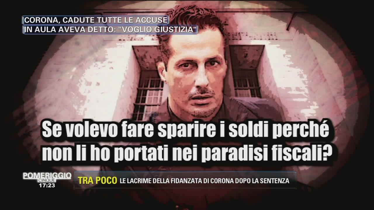 Le parole di Fabrizio Corona