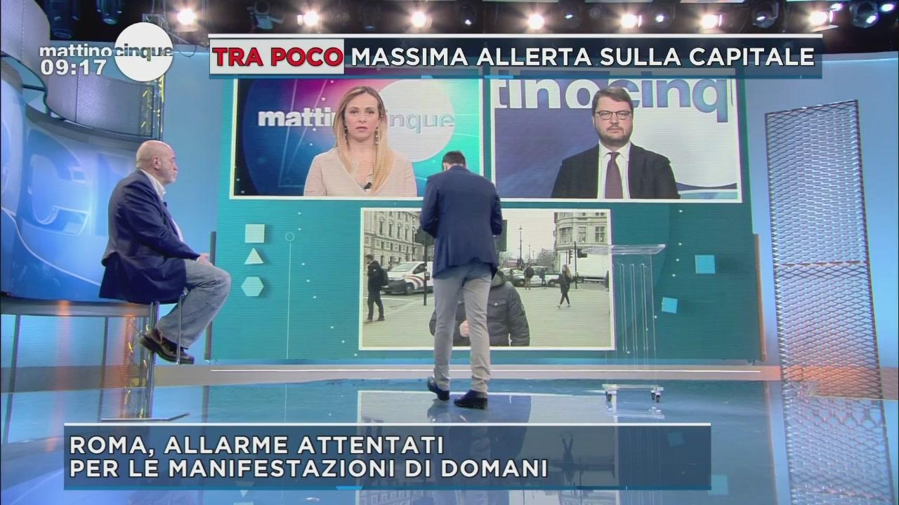 Stretta antiterrorismo a Roma