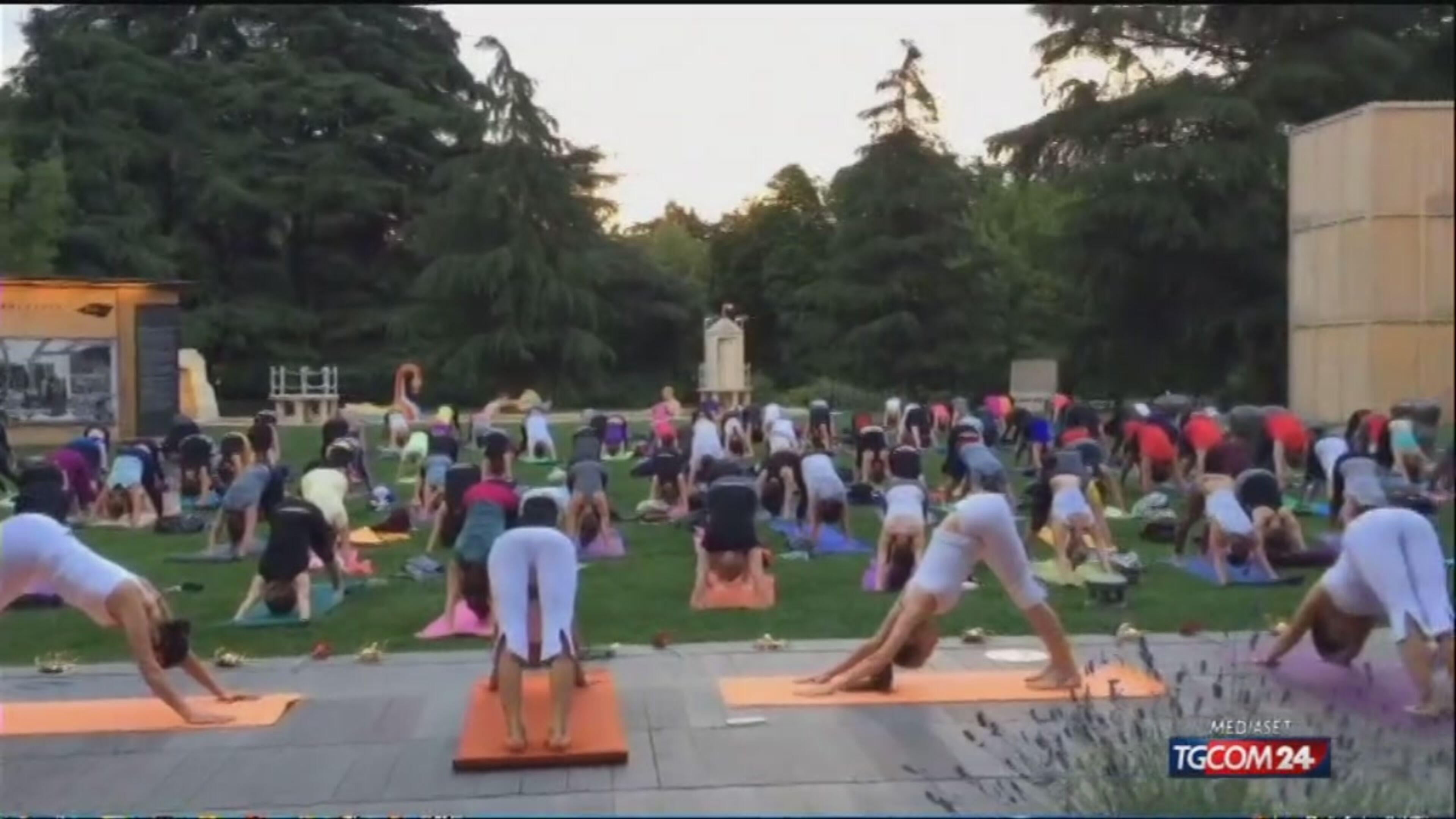 E' la giornata mondiale dello yoga