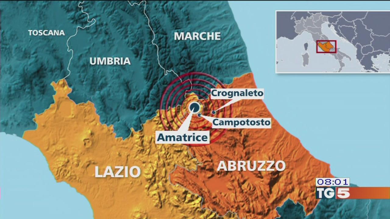 Scossa in centro Italia, rientri da Kos