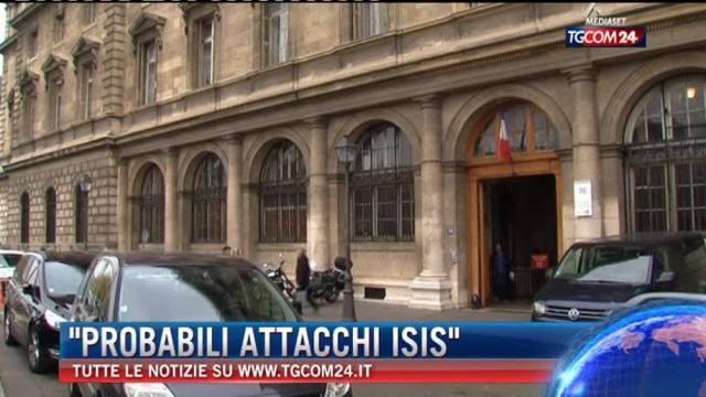 'Probabili attacchi ISIS'