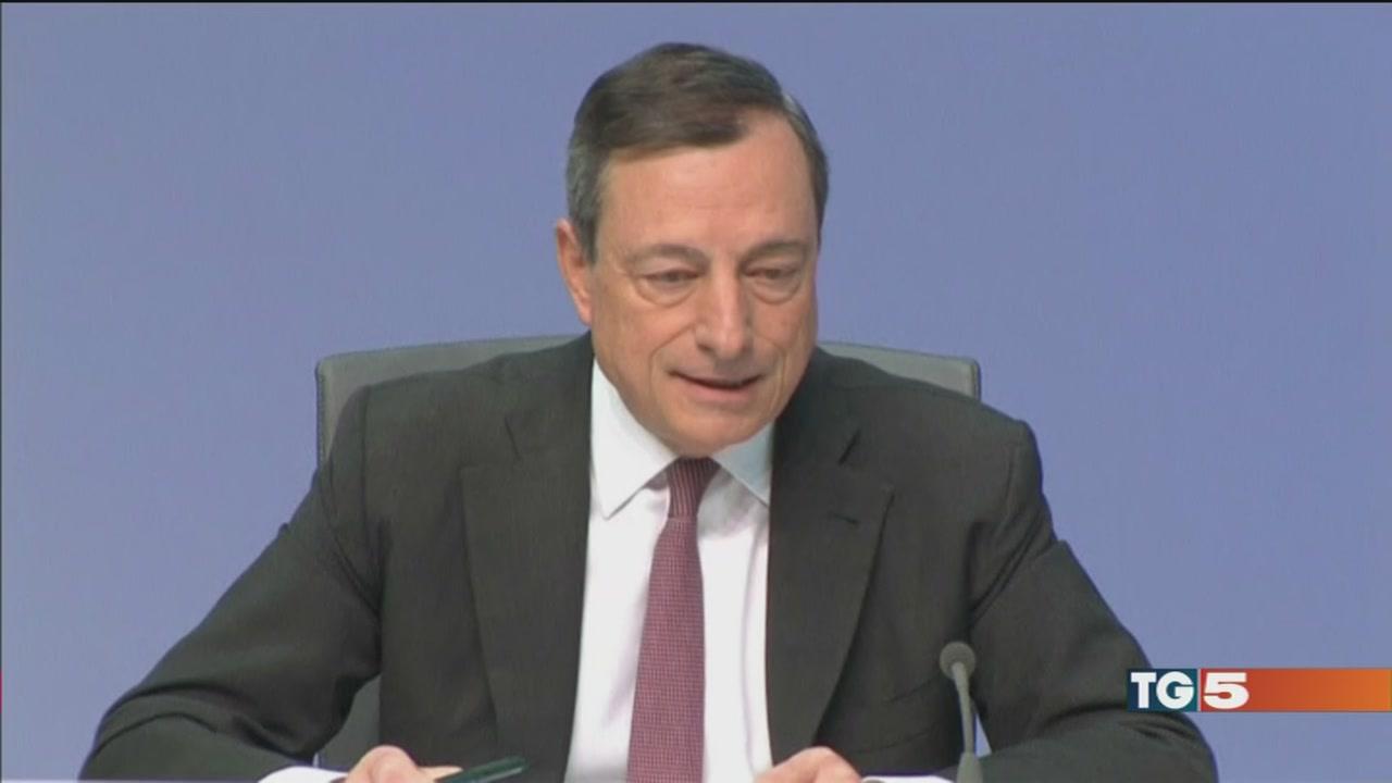 Draghi: nell'Eurozona ripresa più solida