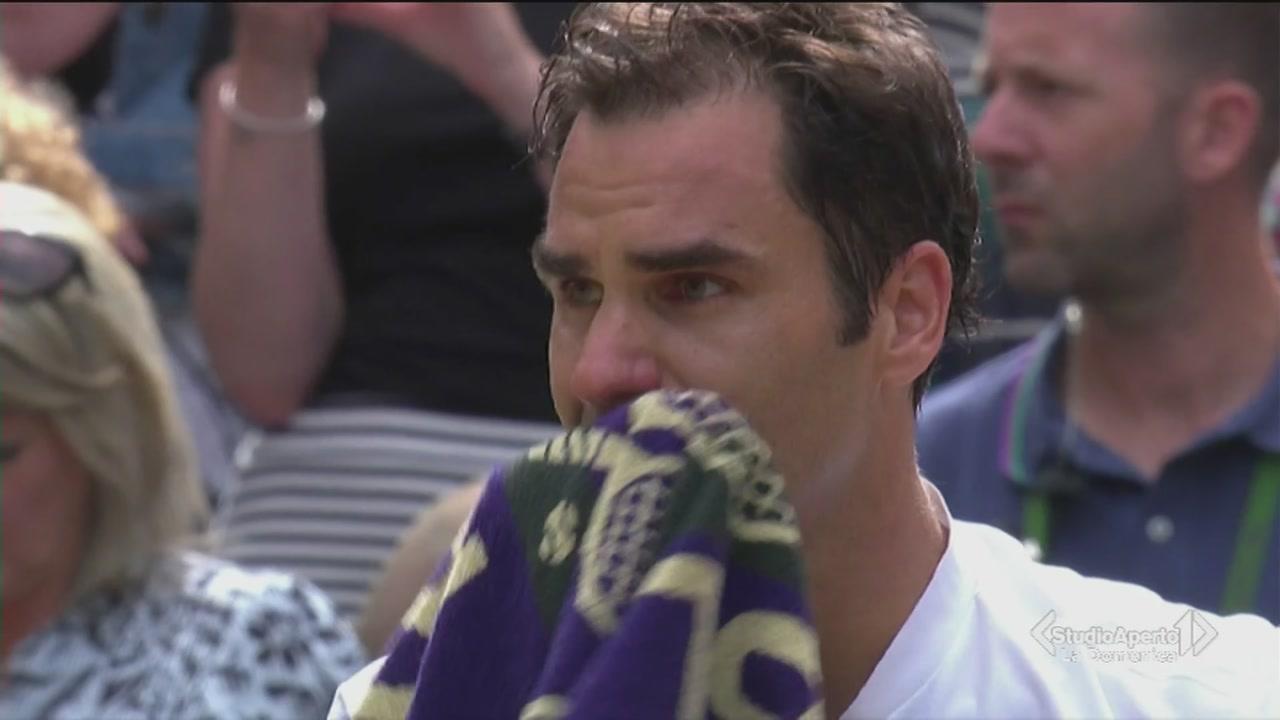 La gioia di Federer