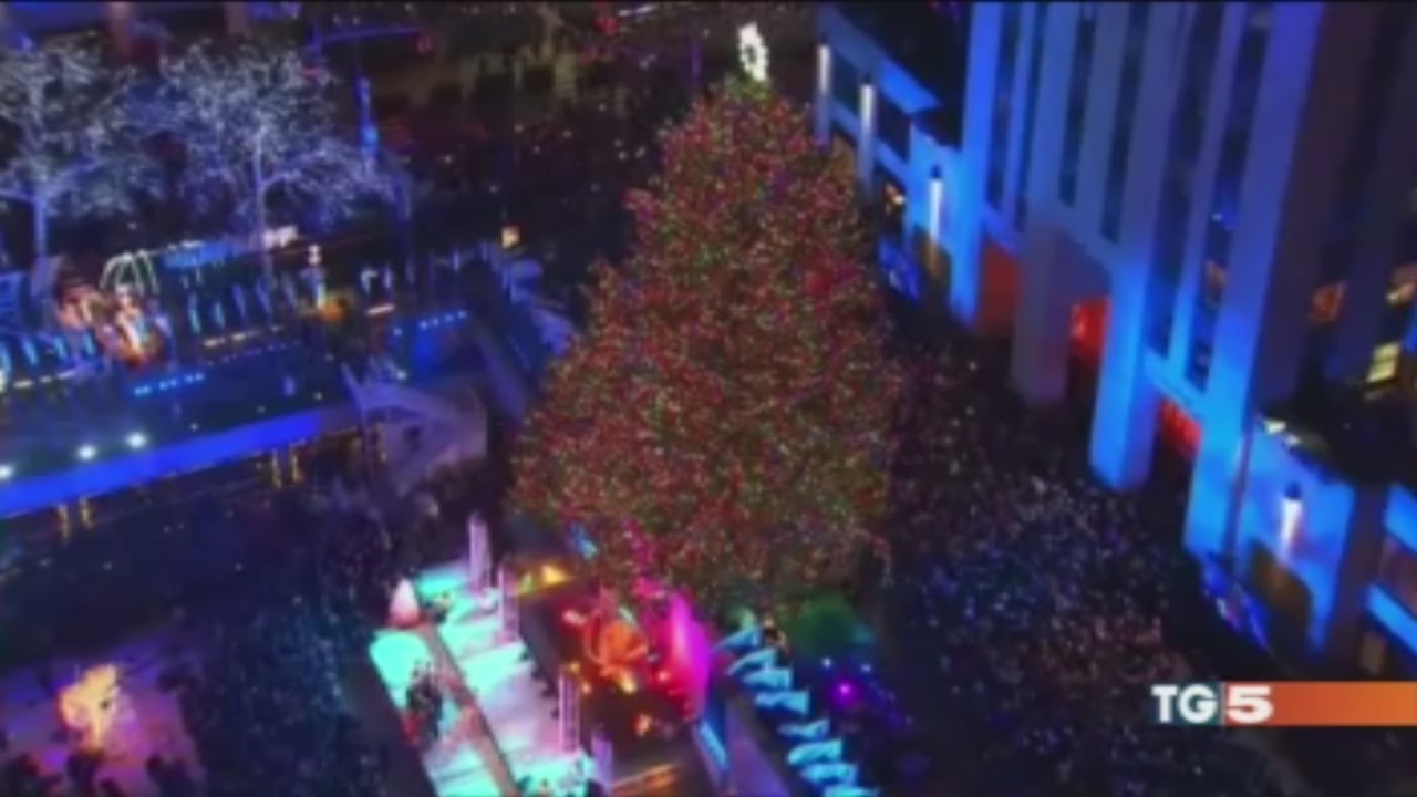 NY, il Natale più bello Stasera a Speciale TG5