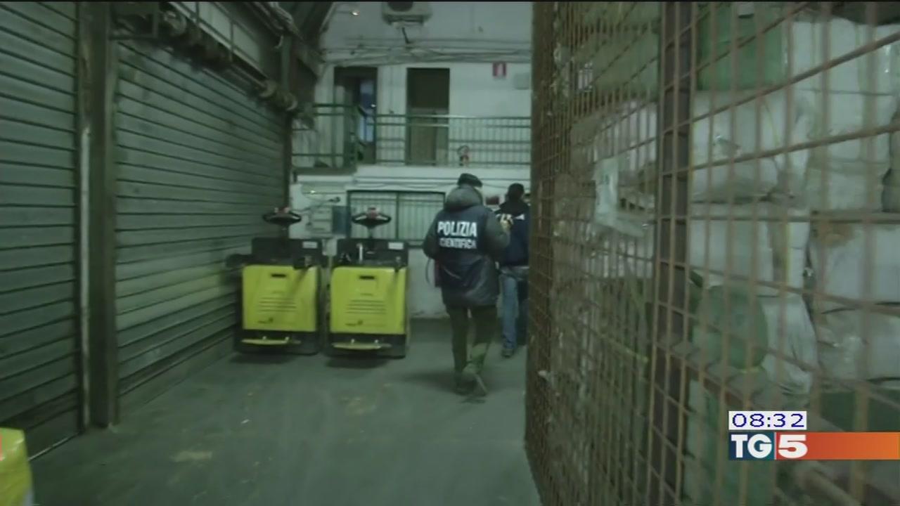 Mafia cinese, blitz e decine di arresti