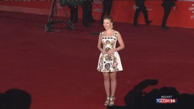 Scarlett Johansson incanta al festival di Roma