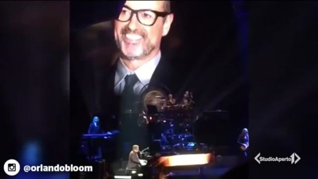 L'omaggio di Elton John