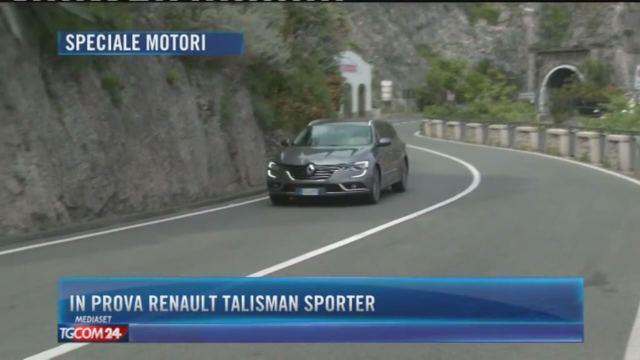 In prova Renault Talisman Sporter e Ford Ranger