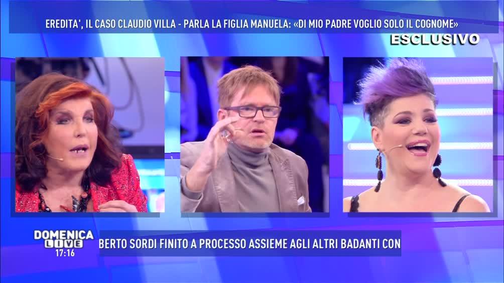 Manuela Villa vs Filippo Facci