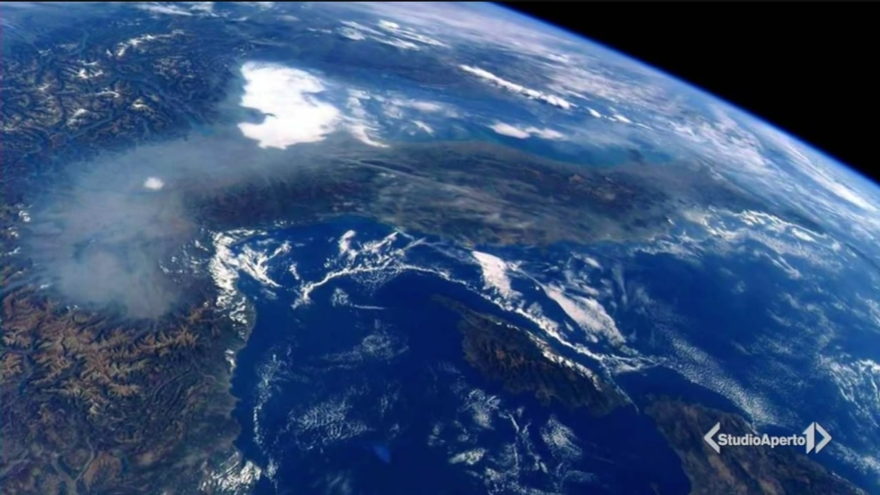 """Ecco la """"cappa"""" vista dallo spazio"""