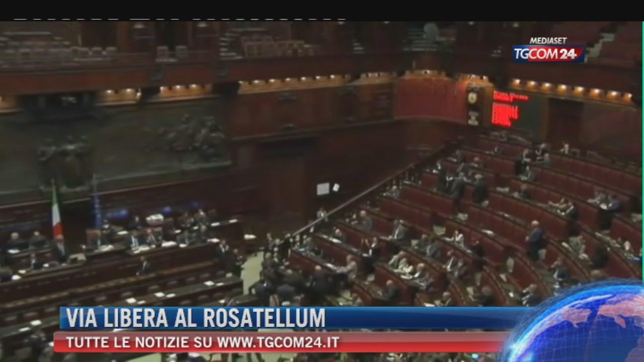 Legge elettorale, Camera approva Rosatellum con 375 sì e 215 no
