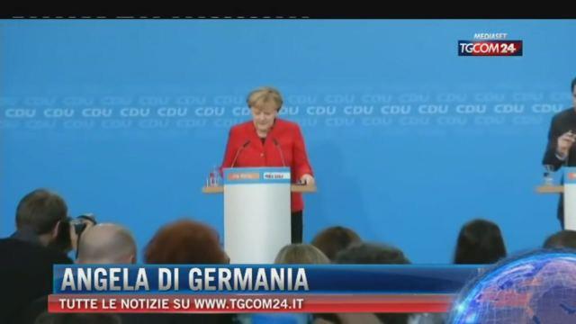 Merkel, 'mi candido per il quarto mandato'