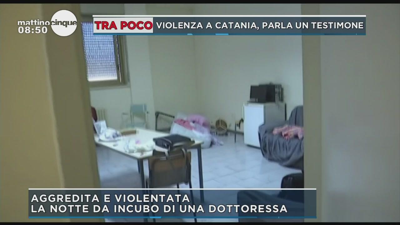 Notte di orrore a Catania