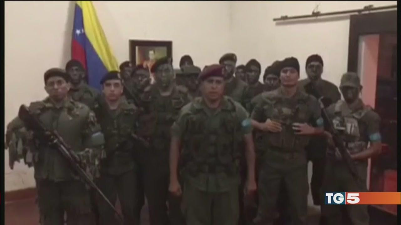 Venezuela, militari in rivolta: è repressione