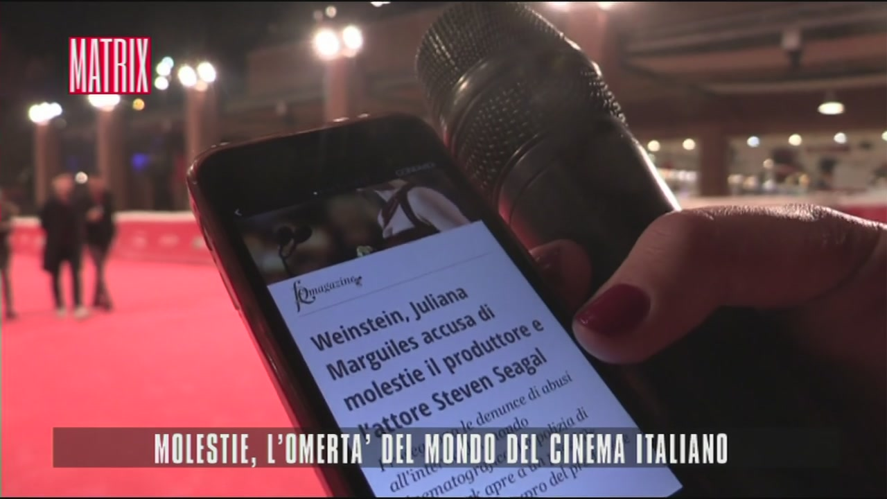 Molestie, l'omertà del mondo del cinema italiano