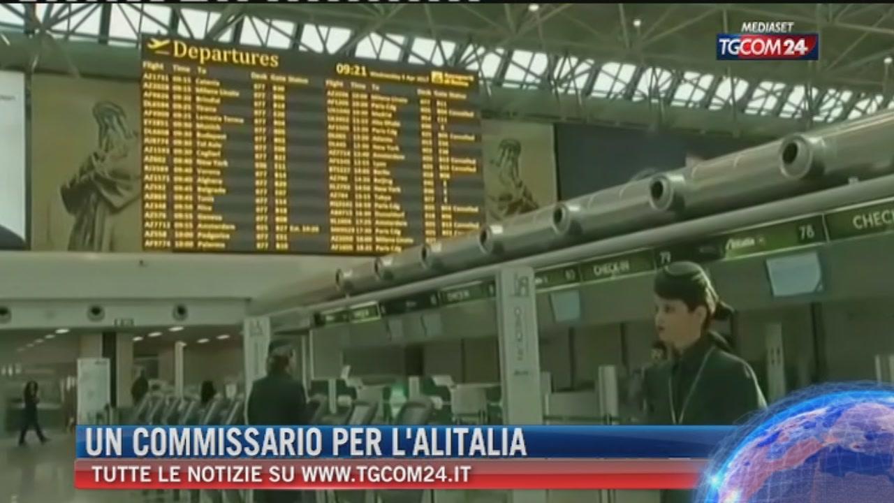 Alitalia, verso il commissariamento