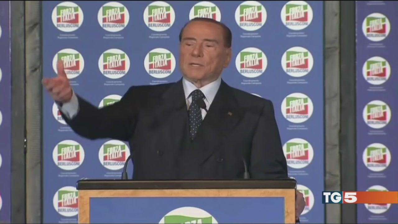 Berlusconi, Renzi: al via la campagna elettorale