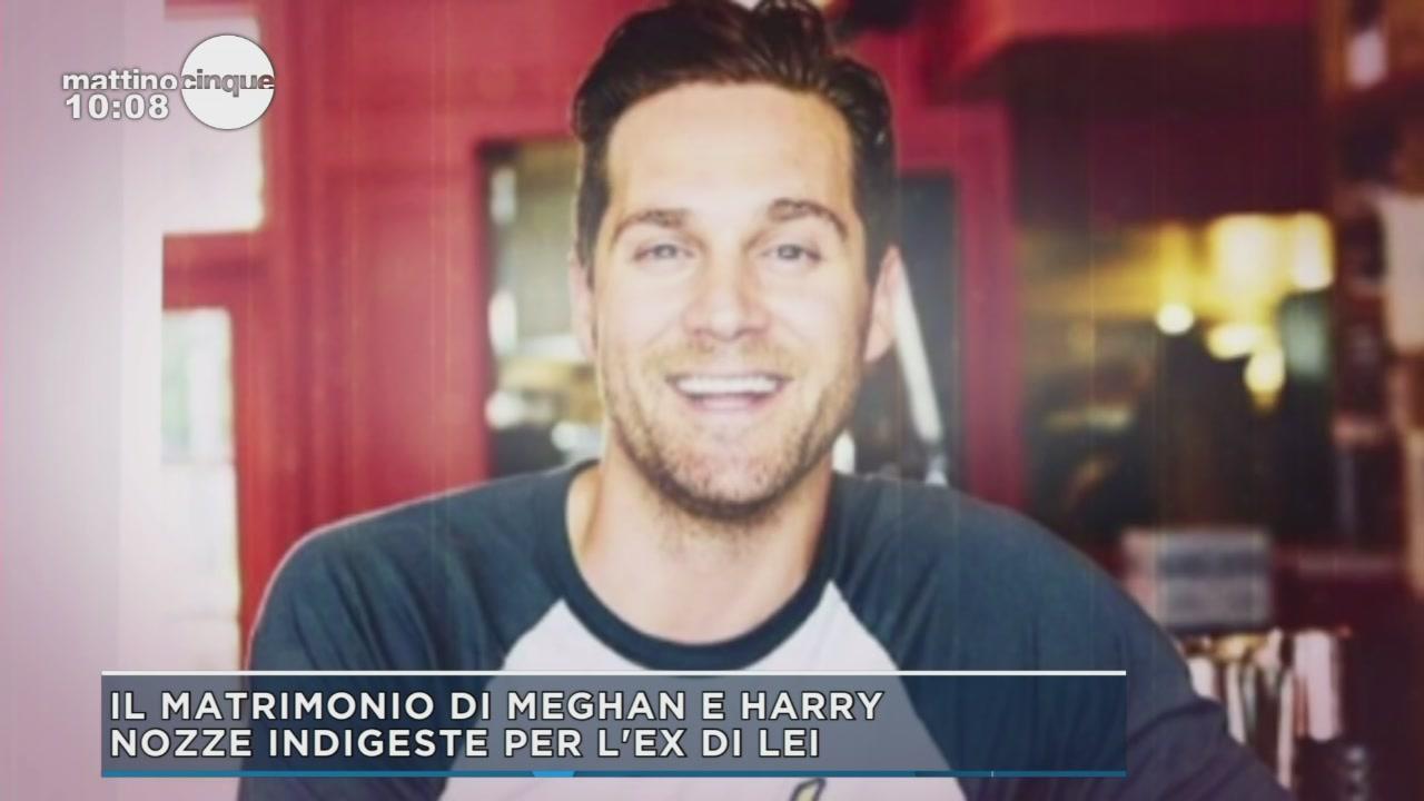 Meghan e l'ex fidanzato italiano