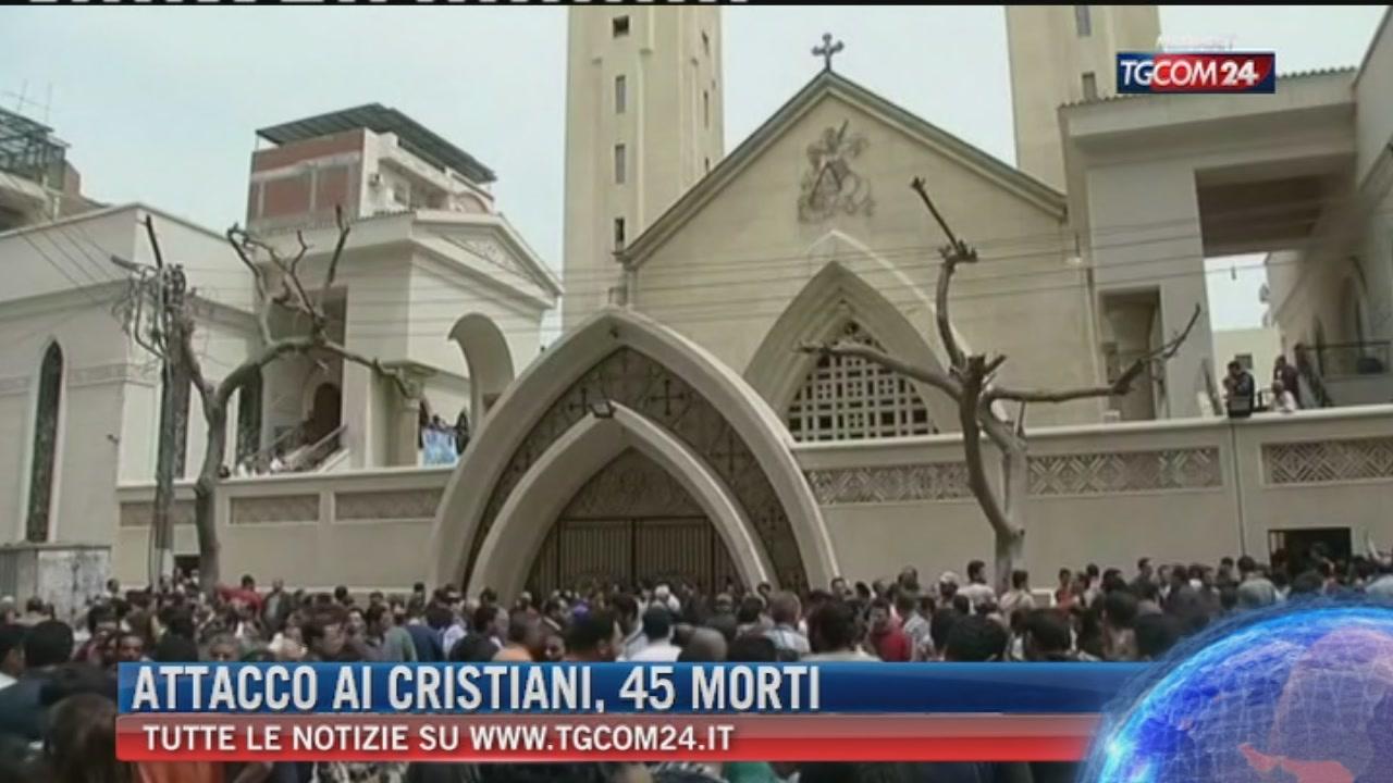 Egitto, chiese cristiane sotto attacco: decine di morti e feriti