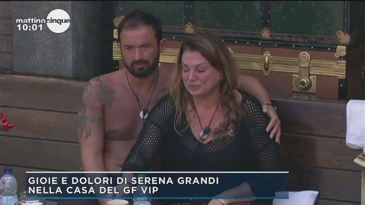 GF Vip 2: Gioie e dolori di Serena Grandi