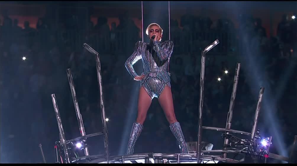 Lo show di Lady Gaga