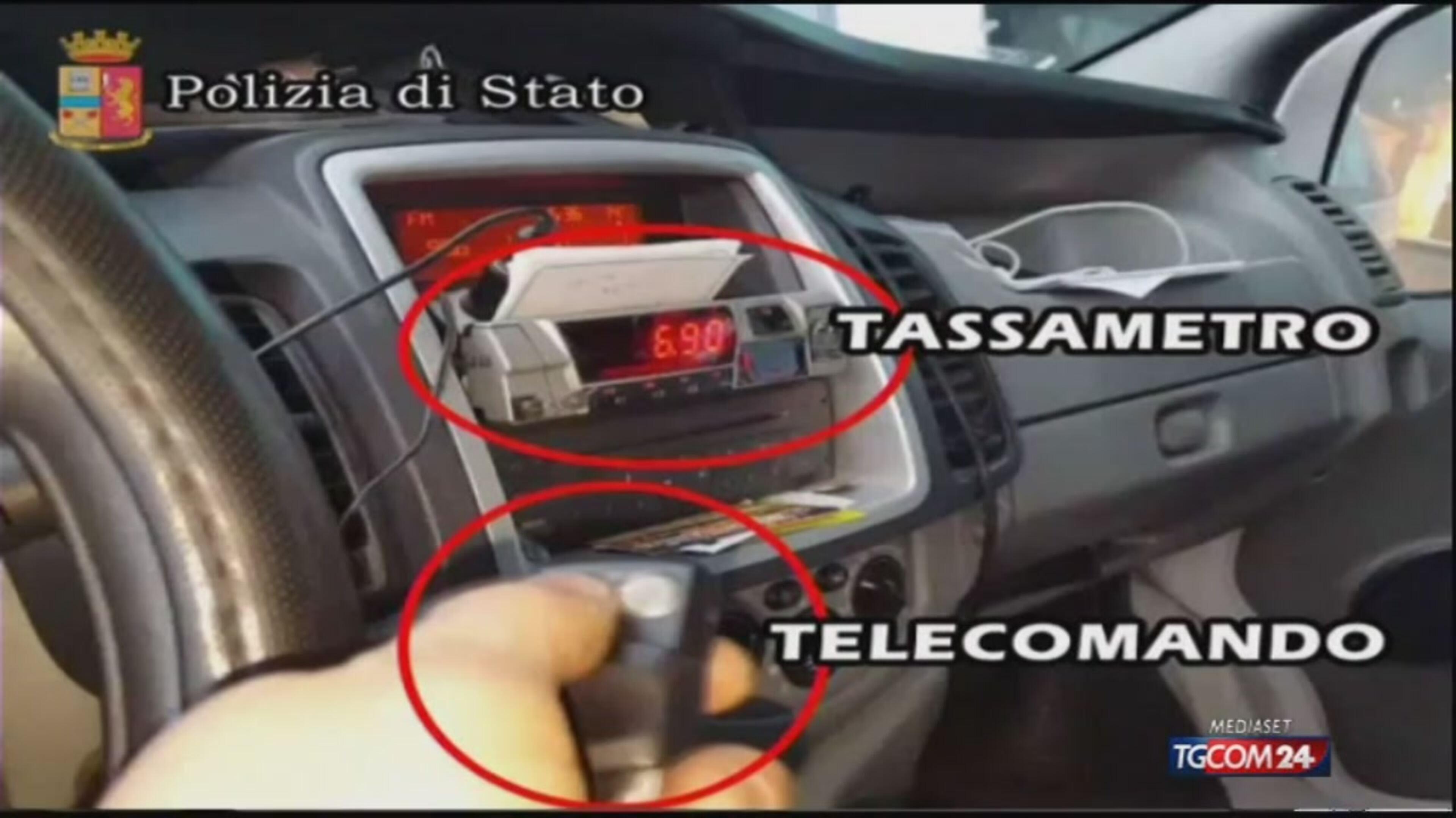 Tariffe col trucco, indagati nove tassisti a Fiumicino