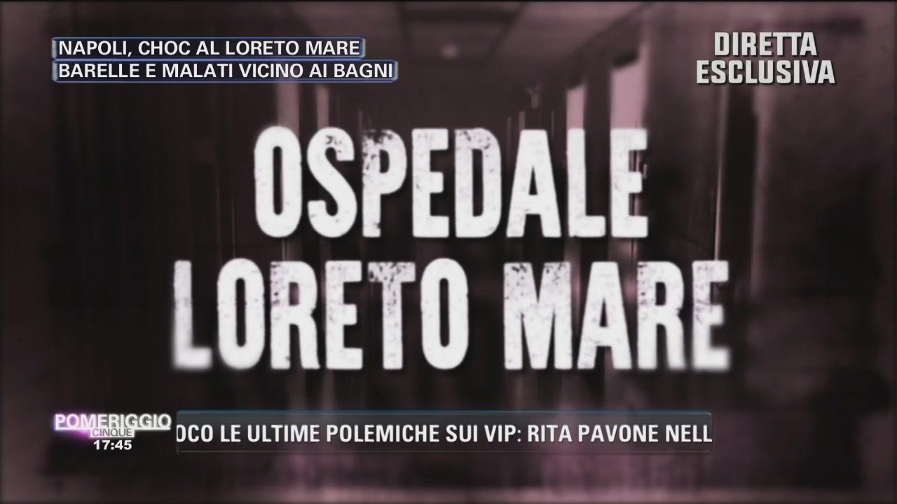 Napoli. Choc al Loreto Mare