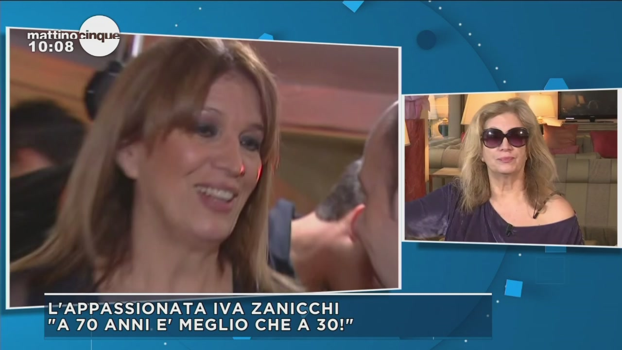 Le forti emozioni di Iva Zanicchi