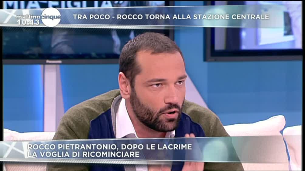Rocco Pietrantonio e la voglia di ricominciare